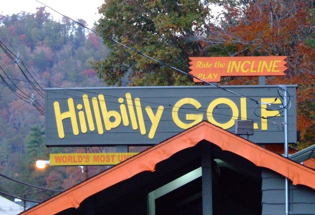 Hillbilly Golf Putt Putt in Gatlinburg TN