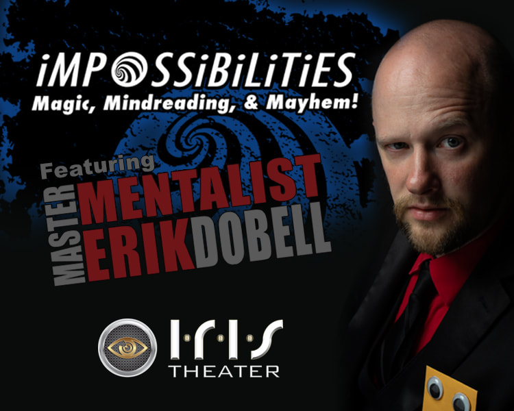 Master Mentalist and Magician Erik Dobell in Impossibilities at the Gatlinburg Space Needle